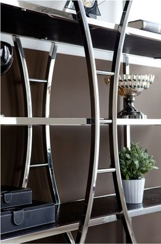 Diana bookcase. Modern Bookcase, Furniture Companies, Ladder Decor, Diana, Shelves, Steel, Home Decor, Shelving, Decoration Home
