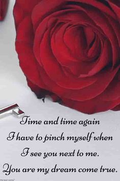 Beautiful Red Rose Pictures With Romantic Love Quotes I Love Roses