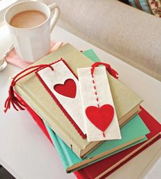 Bookmarks for Valentine's Day gifts | Midwest Living