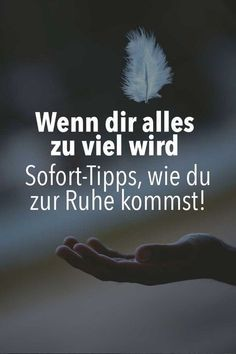 Sofort Hilfe: Wenn alles zu viel wird – Tipps bei Überforderung The best tips to the Leave behind: If everything is too much, these help So you find the trigger of your stress and fight it. Stress Management, Feel Good, Good To Know, Hip Workout, Psychology Facts, Color Psychology, Health Motivation, Better Life, Decir No