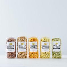 Flavoured popcorns (just not wasabi)