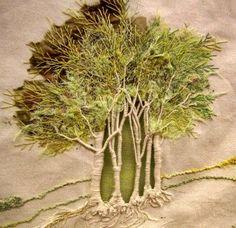 Haftowane drzewa w 3D
