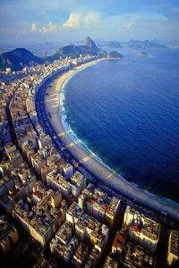 Copacabana Beach, Rio de Janeiro, Brazil • EXTEND YOUR LIFE > http://www.foreverhealthywater.com/