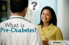 What is Pre-Diabetes? | SparkPeople