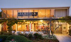 Samovar tea lounge-Yerba Buena location-San Francisco, CA. Outside.