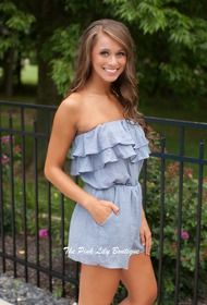 Like A Daydream Chambray Romper