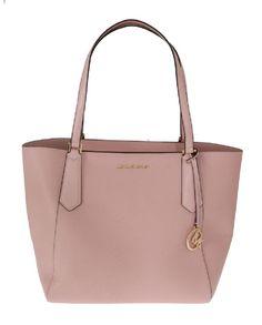 1c6a7a696a6e Tote bag in pelle rosa KIMBERLY Michael kors - rosa