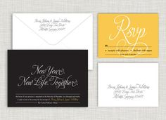 New Year. New Life. Together. Wedding Suite Order @ www.saraheilwagen.com #newyearwedding #newyearseve