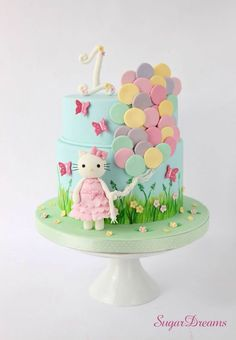 Hello Kitty Cake - CakesDecor