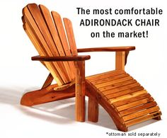 Baldwin Lawn Furniture - Chairs - Baldwin Adirondack Chair - This is what we have now, and which we bought probably back in 1999. We've never put any protective coating on them and they've lived outside uncovered all this time. They may be finally starting to fall apart, but I think I just want to buy more of them. Thick wood! Great comfort. Highly recommend Baldwin furniture!