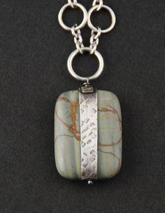 Wrapped Jasper Pendant style2