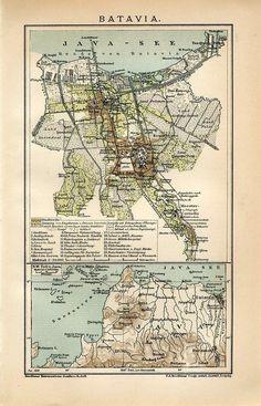 1899 Indonesia Jakarta Batavia