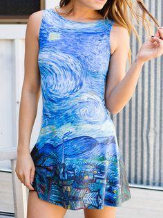 Starry Night Play Dress (WW 24HR $85AUD / US - LIMITED $68USD) by Black Milk Clothing