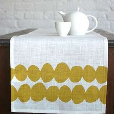 Custom Designed Patterned and Sewn Table Runner  120 by sugarSCOUT, $98.00