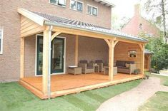The pergola kits are the easiest and quickest way to build a garden pergola. There are lots of do it yourself pergola kits available to you so that anyone could easily put them together to construct a new structure at their backyard. Pergola Diy, White Pergola, Pergola With Roof, Wooden Pergola, Covered Pergola, Patio Roof, Diy Patio, Backyard Patio, Pergola Ideas