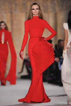 stephane rolland spring 2012 haute couture collection