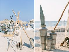Bohemian Beach Party in Spetses | Kaiki Beach | Spetses Wedding