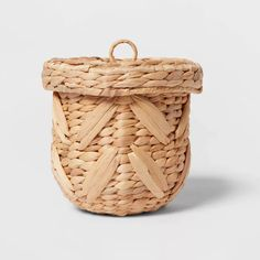 Woven Chevron Canister - Opalhouse™ : Target Storage Canisters, Storage Containers, Disney Gift Card, Bath Storage, Shower Curtain Rods, Bathroom Organisation, Organization, Decorative Storage, Affordable Home Decor