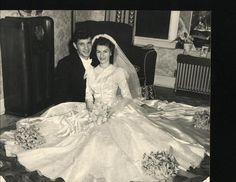 1940s wedding Gown