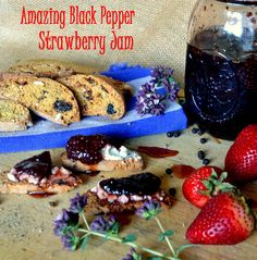This is How I Cook: Amazing Black Pepper Strawberry Jam or Mrs. Ingalls, I Am Not!