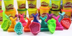 Play Dough Modelling Clay with Vegetables Molds Fun and Creative for Kids