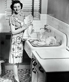 "women of the 50s | Value of Housewife #1 if the housewife's time is ""not too highly ..."
