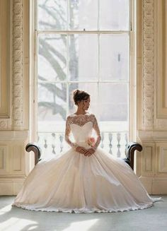 All White Weddings: Bridal Gowns