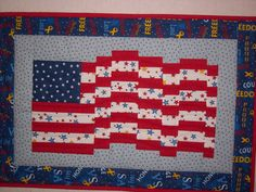 Cute idea which could be done with a quilt as you go method.
