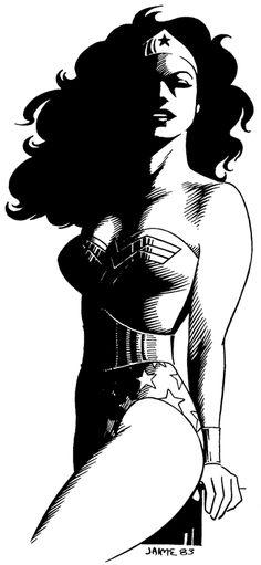 Wonder Woman by Jaime Hernandez