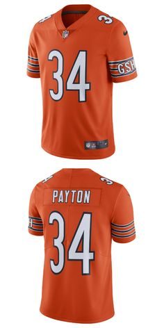 ee968645 Chicago Bears. UP TO 70% OFF. Walter Payton Chicago Bears Nike Alternate  Vapor Untouchable Limited Retired Player Jersey Orange.