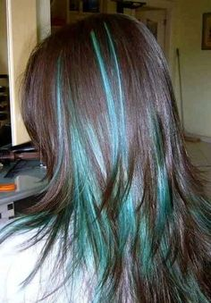Check Out Our , Reaction to Hair Coloring Best 2019 New Hair Color 2018 Best New, 50 Blue Hair Highlights Ideas Hair and Beauty ♥, 9 Best Teal Highlights Images In Kids Hair Color, Teal Hair Color, Hair Color And Cut, Purple Hair, Color Blue, Aqua Hair, Turquoise Hair, Blue Brown Hair, Teal Blue