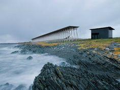 Steilneset Memorial / Peter Zumthor et Louise Bourgeois / Vardø, Norvège