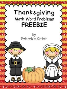 FREE Word Problems with a Thanksgiving theme!