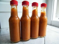 Homemade Hot Sauce | Tips for fermenting and bottling your pepper crop along with an interesting recipe - Pear, Habanero, and ginger? Must try this!