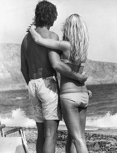Inspiraci�n retro en la playa