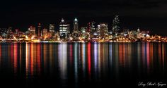 Photograph Rainbow of Colors, Elliott Bay, Seattle, Washington by Long Bach Nguyen on 500px