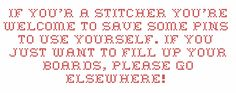 Before you save my pins, please read this.
