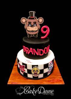 Friday Night at Freddy's birthday cake