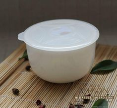 Bone China Microwave Bowl Plastic Dual Storage Box Large Fresh Seal Lock