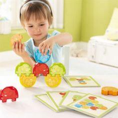 Gra zręcznościowa  Akrobacje słoni (2+), HABA B300145 http://petitbebe.pl/pl/p/Gra-zrecznosciowa-Akrobacje-sloni-2-%2C-HABA-B300145/2432