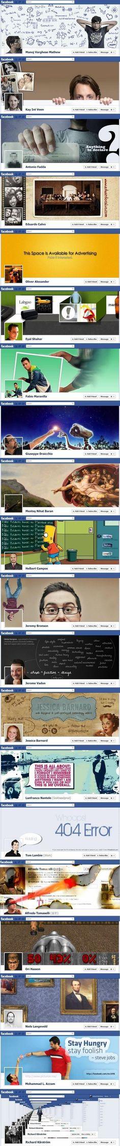Creatieve Facebook omslagen