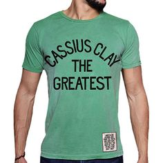 Roots Of Fight Cassius Clay The Greatest Shirt Roots Of Fight, Boxing T Shirts, Muhammad Ali, Clay, Mens Tops, Fashion, Moda, Fashion Styles, Fashion Illustrations