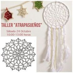 Best 12 Patterns and motifs: Crocheted motif no. Crochet Dreamcatcher Pattern, Crochet Snowflake Pattern, Crochet Motifs, Crochet Snowflakes, Doily Patterns, Crochet Chart, Crochet Doilies, Crochet Flowers, Crochet Patterns