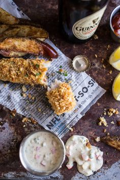 Potato Chip Crusted Fish and Chips…with all the Fixings| halfbakedharvest.com @hbharvest