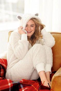 Camille Rowe - Next Sleepwear (Winter2014)