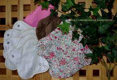 DIY Fabriquer ses serviettes hygiéniques lavables écologiques gratuitement à partir de récup' (et sans machine à coudre) !