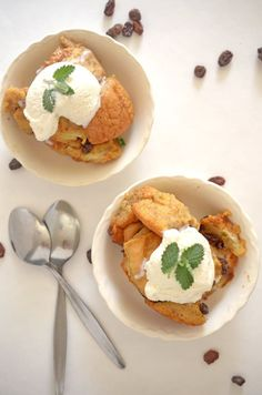 Slow Cooker Bread Pudding from Platter Talk