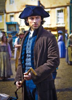 Captain Ross Poldark (Aidan Turner) http://www.farfarawaysite.com/section/poldark/gallery.htm