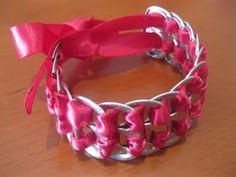 Taking Off At Nine: DIY Pop Tab Bracelet