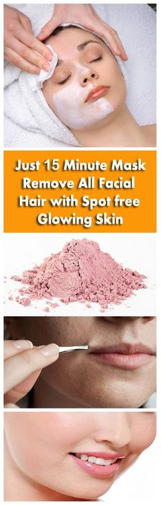 Can you see fine hair on face? How to get rid of facial hair naturally at home? Here is the best solution to